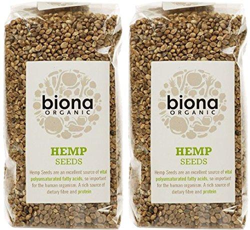 (2 Pack) - Biona - Org Hemp Seed | 250g | 2 PACK BUNDLE by Biona (Image #2)