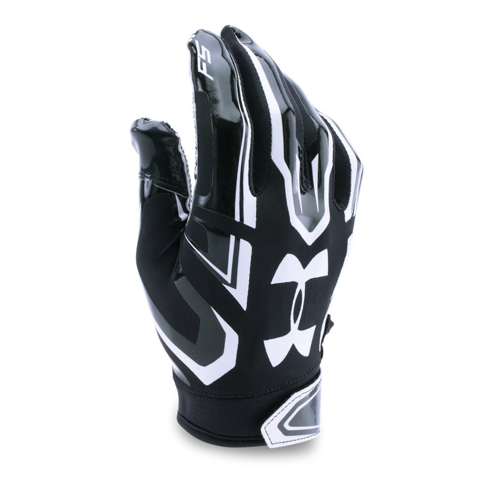 Under Armour Boys' Youth F5 Football Gloves by Under Armour (Image #1)