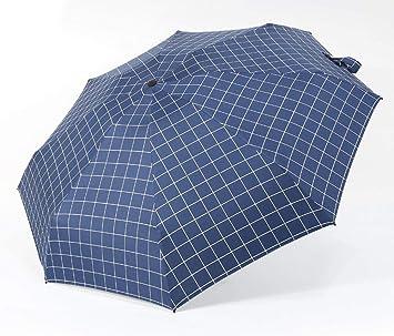 zhenfa Sol Paraguas Mujer Protector Solar contra la radiación Ultravioleta Paraguas por ciento Lluvia y Brillo