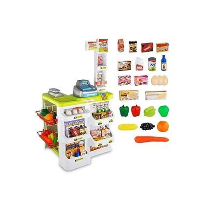 FLYSXP Juguete del Supermercado De La Simulación De Los Niños con El Niño del Regalo De