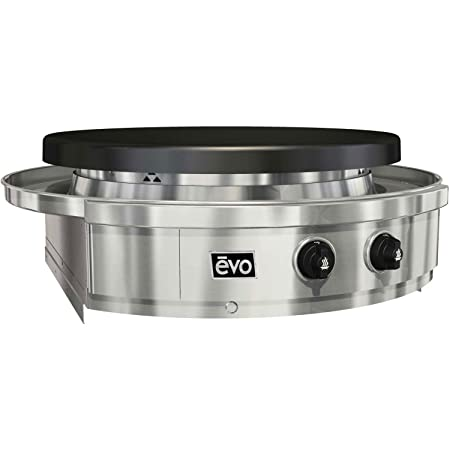 EVO Affinity 30G Series Built-in Grill 10-0055-NG , Seasoned Steel Cooktop, Natural Gas