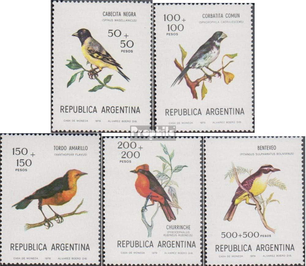 Prophila Collection Argentina Michel.-No..: 1347-1351 (Completa ...