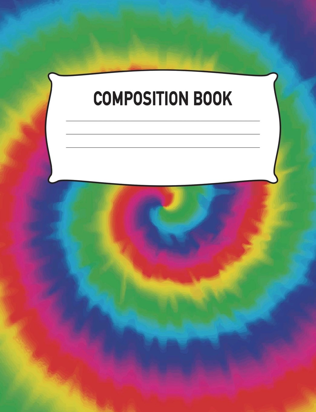 Download Composition Book: Composition Notebook Wide Ruled Tie Dye Rainbow Diary Practice Journal Organizer: Adults Kids Youth: University, High School, ... 7.44 x 9.69 Lined Paper 120 Pages (60 Sheets) pdf