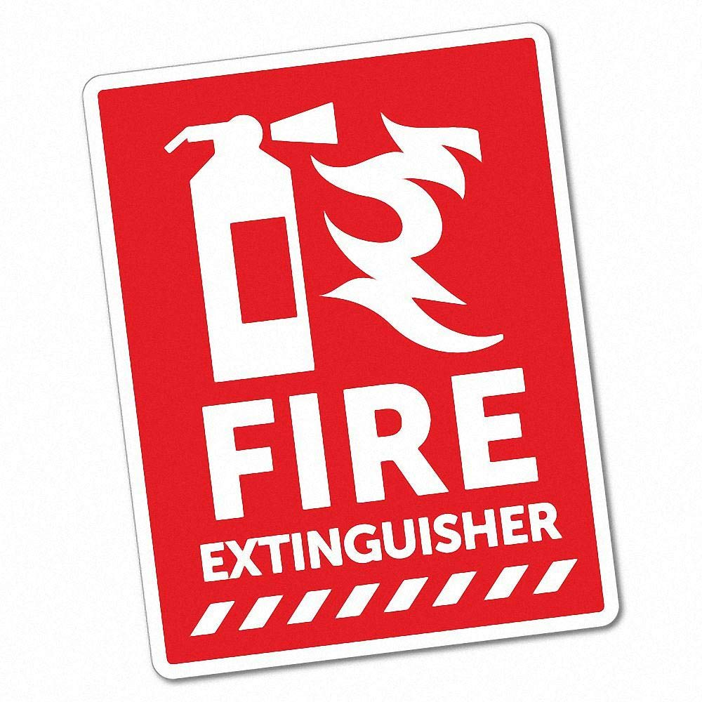 Fire Extinguisher Sticker Sticker Collective