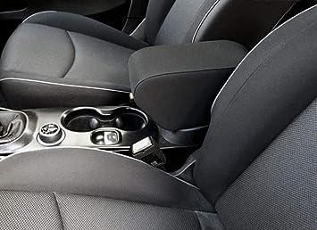 Bracciolo portaoggetti Fiat 500X su misura per auto senza bracciolo di serie con
