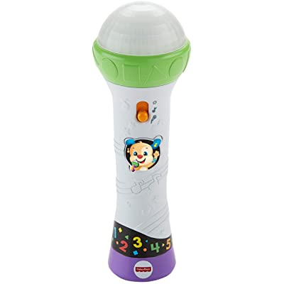 Fisher-Price Laugh & Learn Rock & Record Microphone: Toys & Games