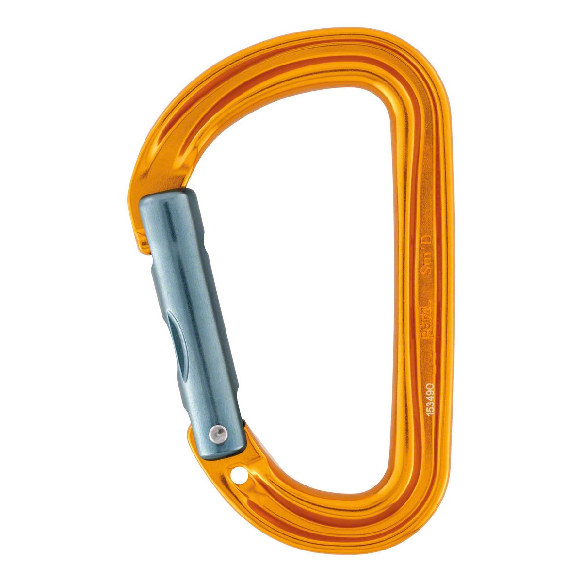 Petzl SM'D Wall H-frame Nonlocking Carabiner With Tethering Hole