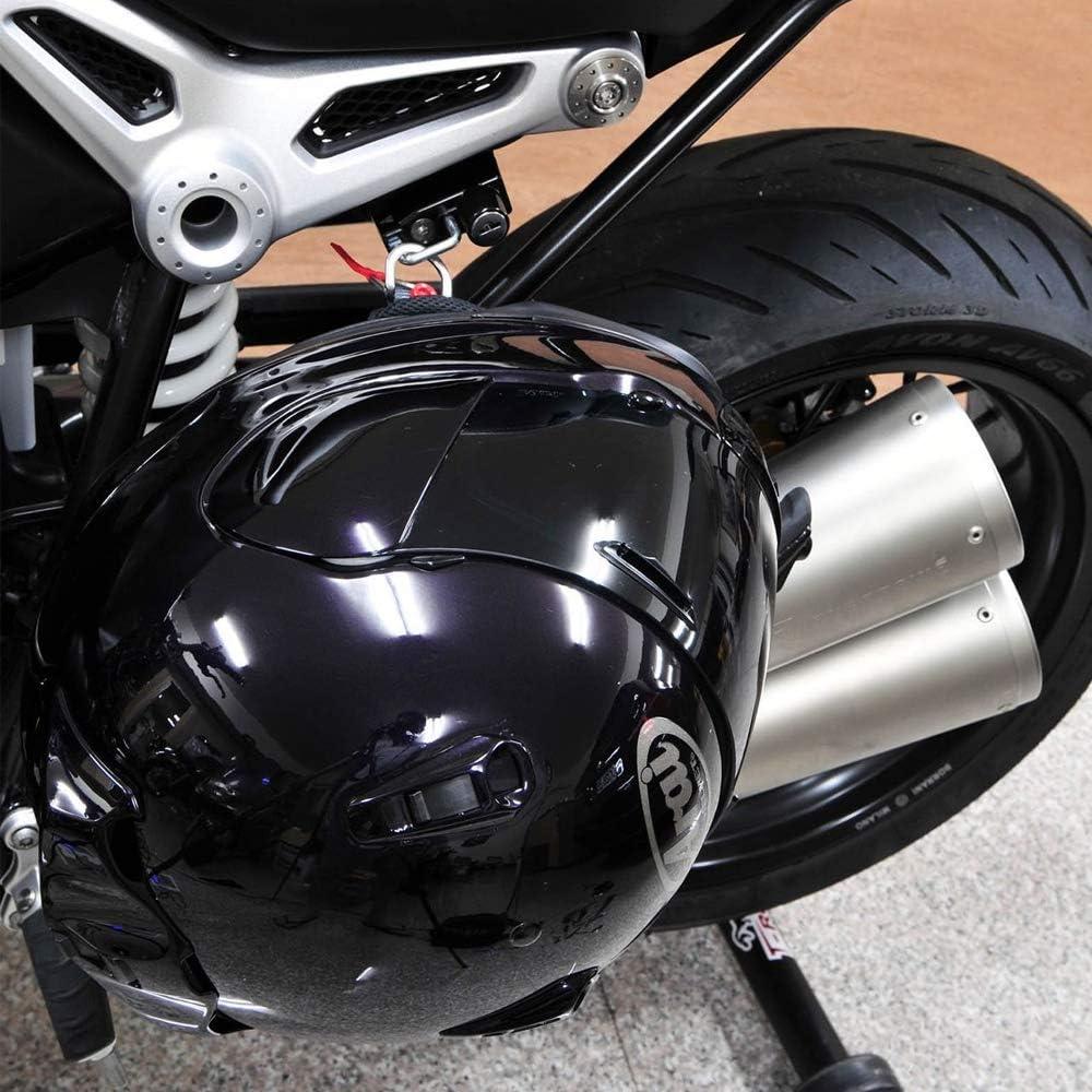 Motorrad Helmschloss Links Diebstahlsicherung Sicherheit F/ür R NineT Modelle 2014-2018