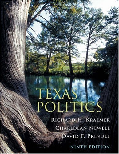 Texas Politics (with InfoTrac) (Available Titles CengageNOW)