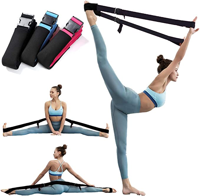 evebel Leg Stretcher Band Door Flexibility /& Stretching Leg Strap Dance Stretch Strap for Adults Kids Ballet Dance and Gymnastic Exercise Stretch Band Perfect Home Equipment for Ballet Yoga