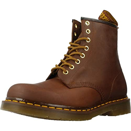 Botas para hombre, color marr�n , marca DR. MARTENS, modelo Botas
