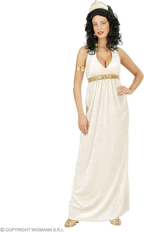 WIDMANN Widman - Disfraz de Diosa Romana para Mujer, Talla M ...