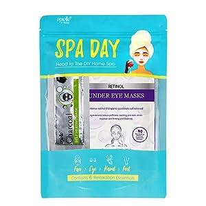 Skincare Beauty Kit   Korean Beauty   6 Items Included   Gift set for women, Spa Gift for women (Spa Day Kit)