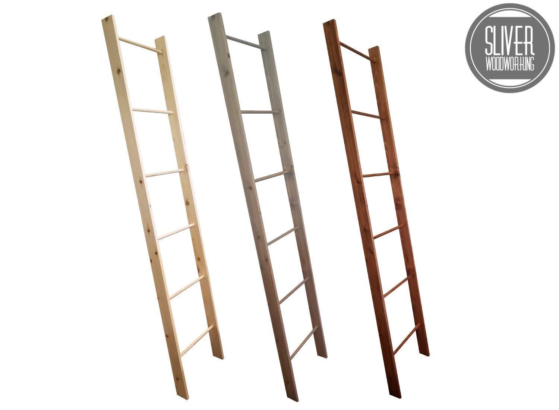 Decorative Blanket Ladder- 4FT 5FT 6FT 7FT and 8FT Quilt Ladder Rack