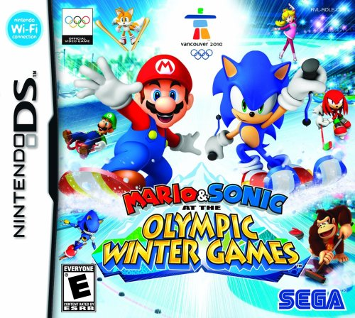 Mario and Sonic at the Olympic Winter Games - Nintendo DS (New Nintendo 2ds Xl Vs New 3ds Xl)