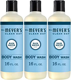product image for Mrs. Meyer's Clean Day Moisturizing Body Wash, Cruelty Free and Biodegradable Formula, Rain Water Scent, 16 oz- Pack of 3