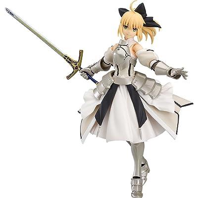 Max Factory Fate/Grand Order Saber Altria Pendragon Lily Figma Figure: Toys & Games