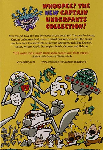The New Captain Underpants Collection (Books 1-5) by The Blue Sky Press (Image #1)