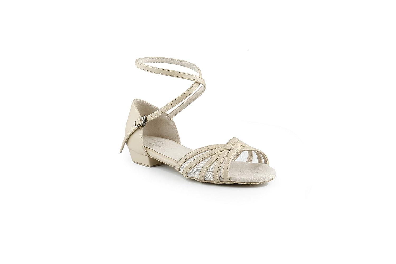 4e82e326f0 Amazon.com | West Coast Swing Dance Shoes (38, Beige) | Sandals