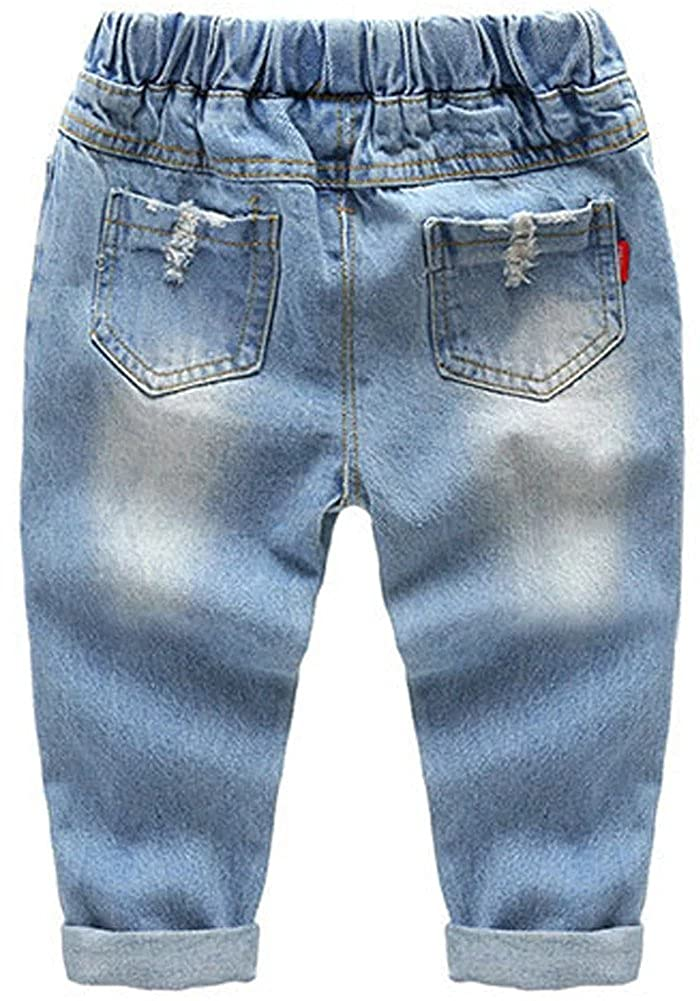 1-6 Years DAIMIDY Little Boys Ripped Jeans