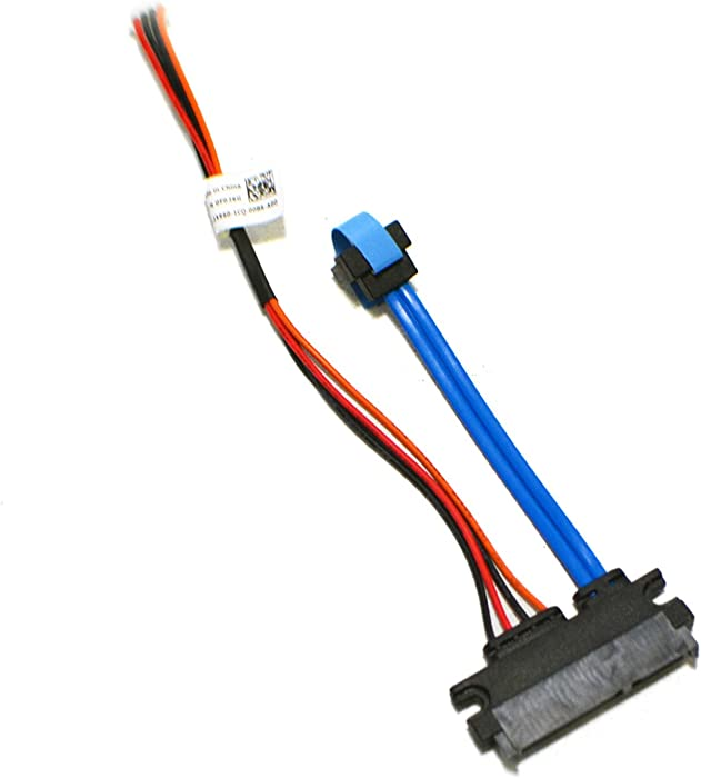 New F026G OEM Dell Optiplex FX160 HDD SATA 4-Pin Adapter Splitter Cable Hard Disk Drive Flex Wire Data Power Cord