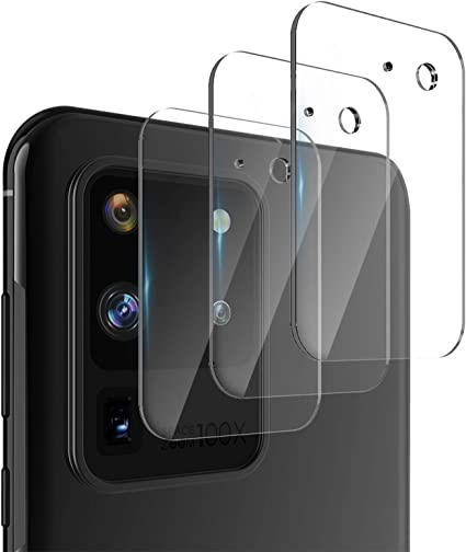 Case Friendly Bubble Free Anti-Scratch Camera Lens Protector for Galaxy Note 20 Ultra 6.9 /Screen Protector Tempered Glass 3 Pack Camera Screen Protector for Samsung Galaxy Note 20 Ultra