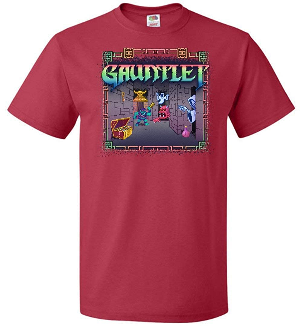 Gauntlet Unisex T-Shirt Adult Pop Culture Graphic Tee Nerdy Geeky Apparel