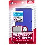 CYBER ・ プレミアムプロテクトカバー (New 3DS LL用) クリアネイビー