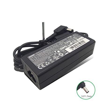 Amazon.com: Nuevo 19V 2,37A 45W 5,5 X 0.067 in adaptador de ...