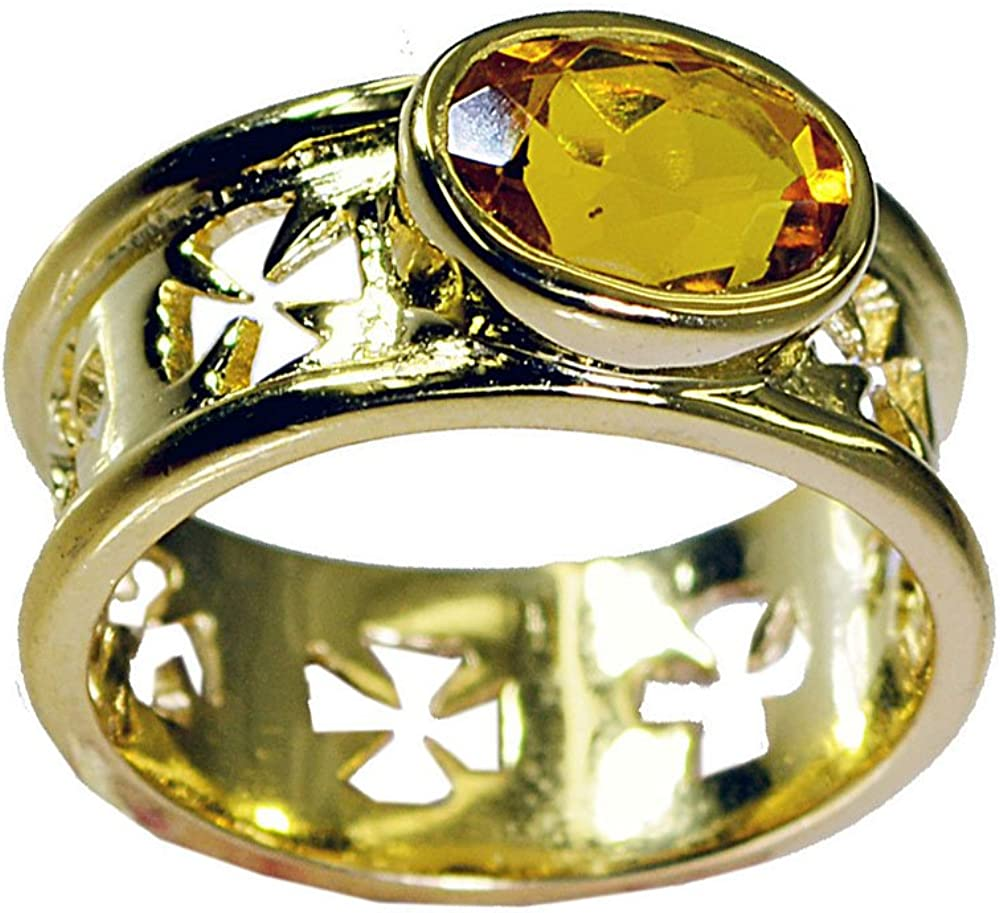 Jewelryonclick Natural Multi Stone Gold Plated Ring for Her Handcrafted Available Size 5,6,7,8,9,10,11,12