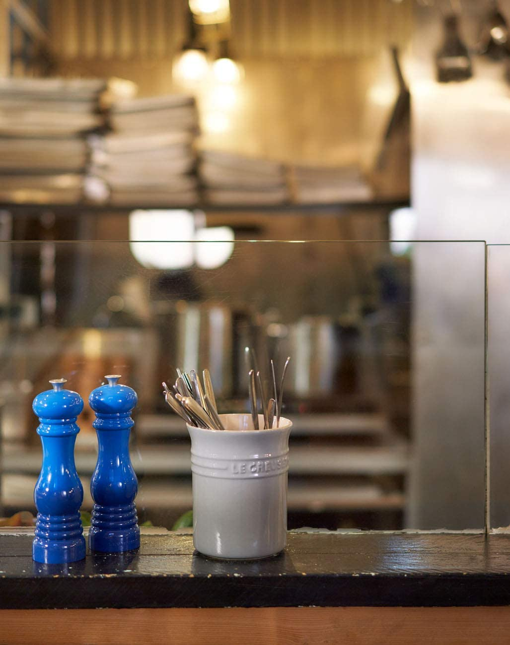 Macina in Ceramica Bianco Plastica ABS Le Creuset Macinino Sale 6.2 x 6.2 x 20.8 cm