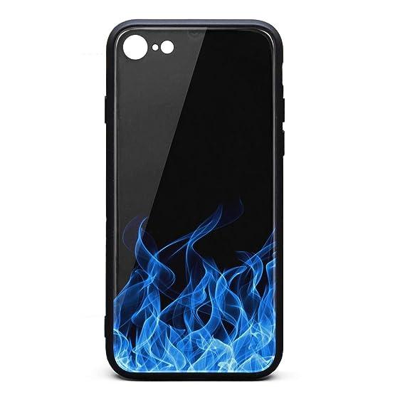 Amazon Com Mobile Iphone 6s Case Blue Flames Wallpaper Fire