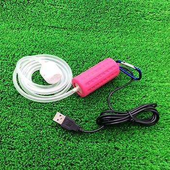 Etbotu Portable Mini USB Aquarium Fish Tank Oxygen Air Pump Mute Energy Saving Supplies Accessories