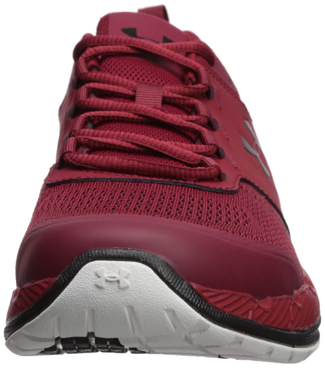 Under Armour Men's Commit TR EX Sneaker, Aruba Red (600)/Black, 7 M US by Under Armour (Image #4)