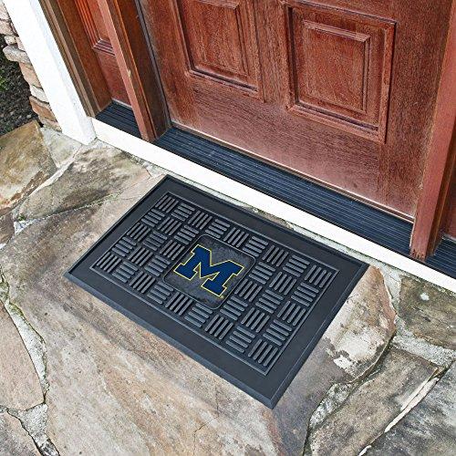 - FANMATS NCAA University of Michigan Wolverines Vinyl Door Mat