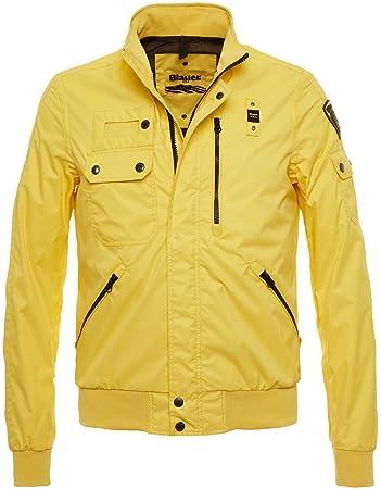 Blauer Usa Daunenjacke Gelb Neue Stilvolle Jacken