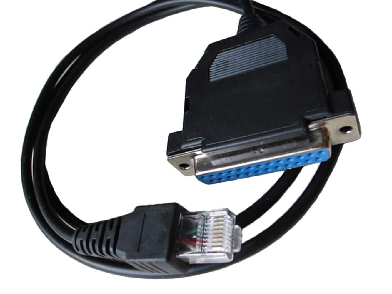 bestkong Rib Programming Cable for Motorola Mobile Radio GM338 GM339 GM300 GM340 GM3188 CDM1550 CDM1250 CDM750