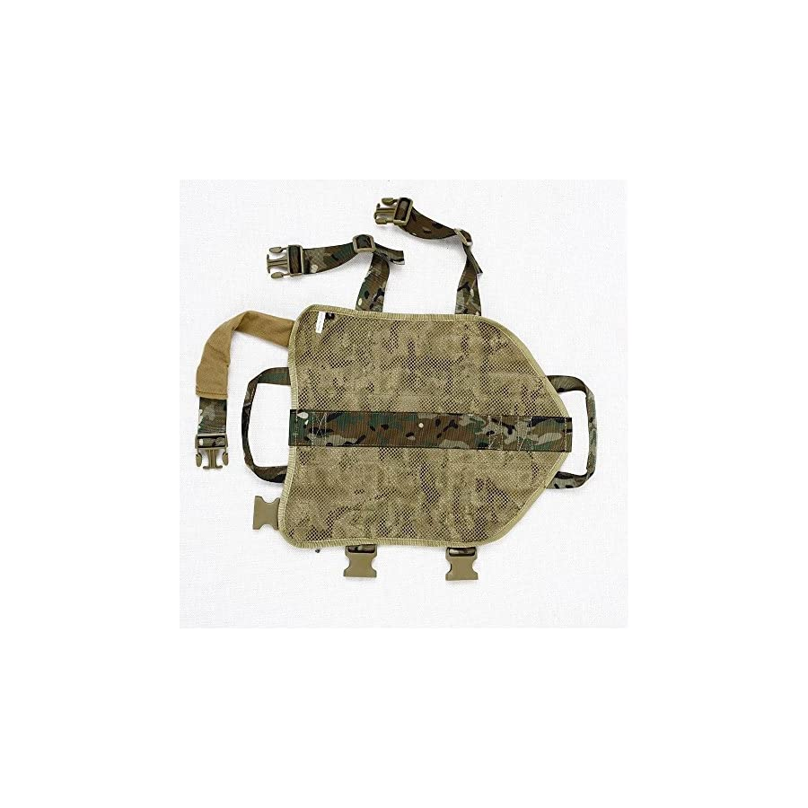Amastly Tactical Dog Packs Training Molle Vest Harness