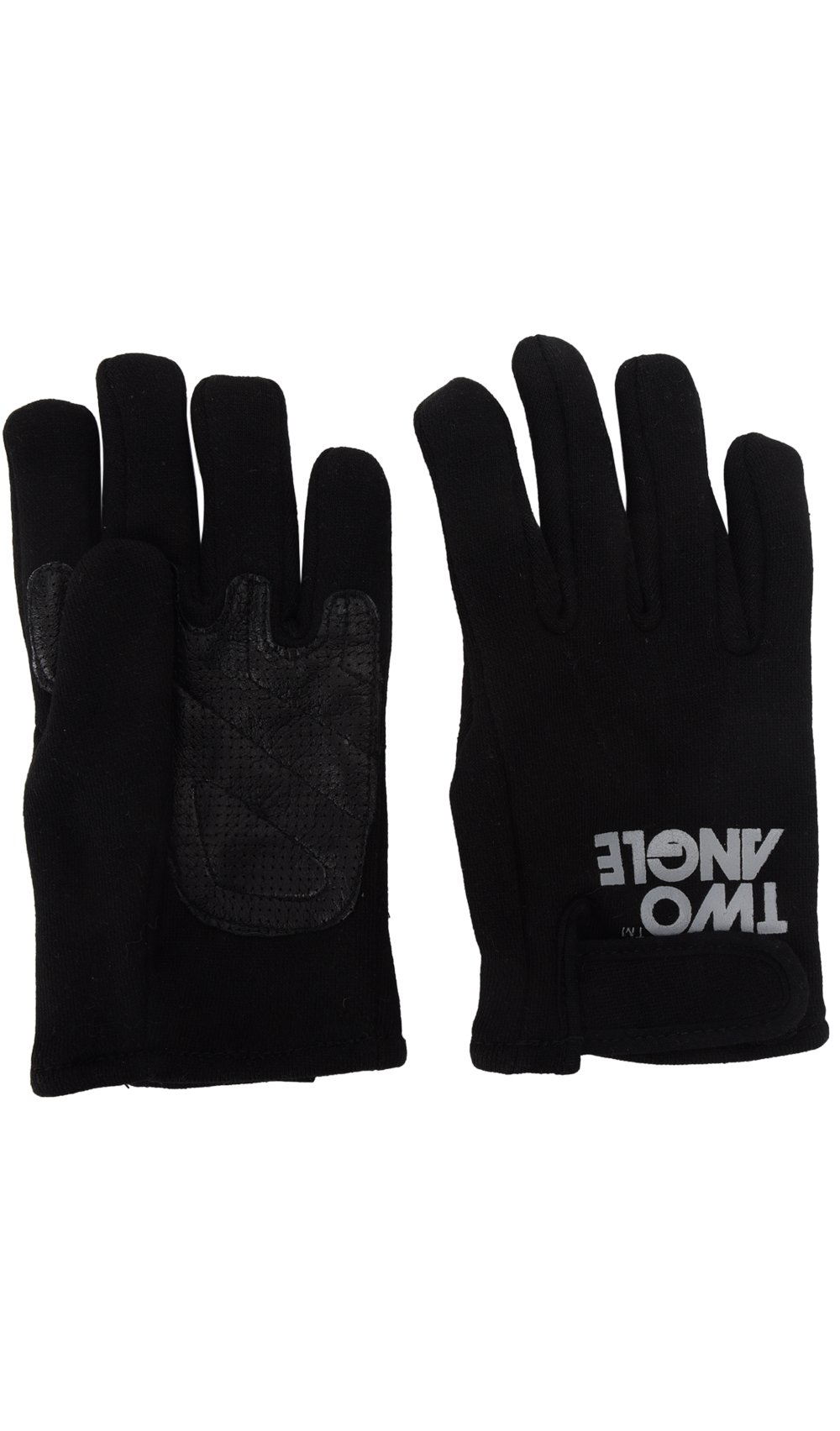 TWO ANGLE Gloves MACHE Black Men Spring/Summer Collection