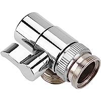 Faucet Diverter Basin Sink Water Tap Switch Valve Brass Shower Head Shut-Off Valve for Bathroom Kitchen Washing Basin