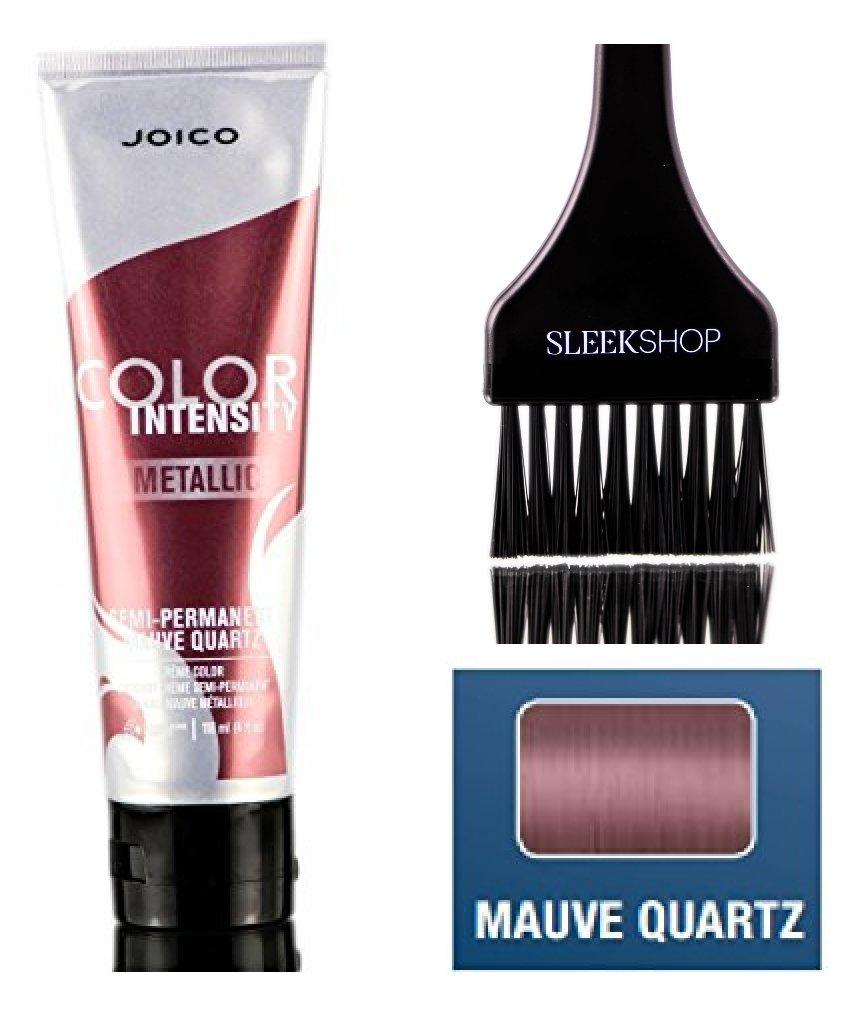 Joico Color Intensity METALLIC Semi-Permanent Creme Hair Color (with Sleek Tint Brush) (Mauve Quartz)