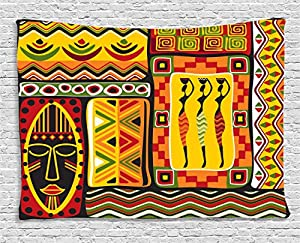 Amazon Com Ambesonne African Decorations Collection African