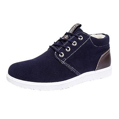 8125e8364a6a62 Kootk Schuhe Herren Winter Stiefel Sneaker Gefüttert Winterschuhe Boots fur  Boots Sport Outdoor Männer Stiefel Turnschuhe