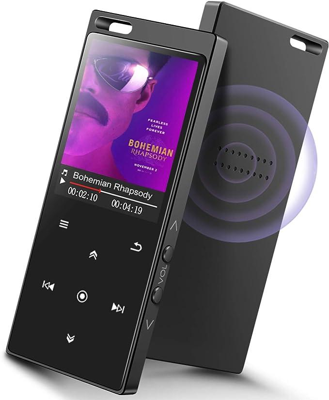 registratore radio FM HIFI Sport Music Altoparlanti mini lettore musicale MP3 portatile MP4 Media schermo TFT da 1,8 Lettore MP3 lettore di lettore video//lettore di e-book con cuffie
