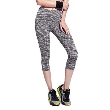 Amazon.com: Pantalones de yoga para mujer, primavera, verano ...