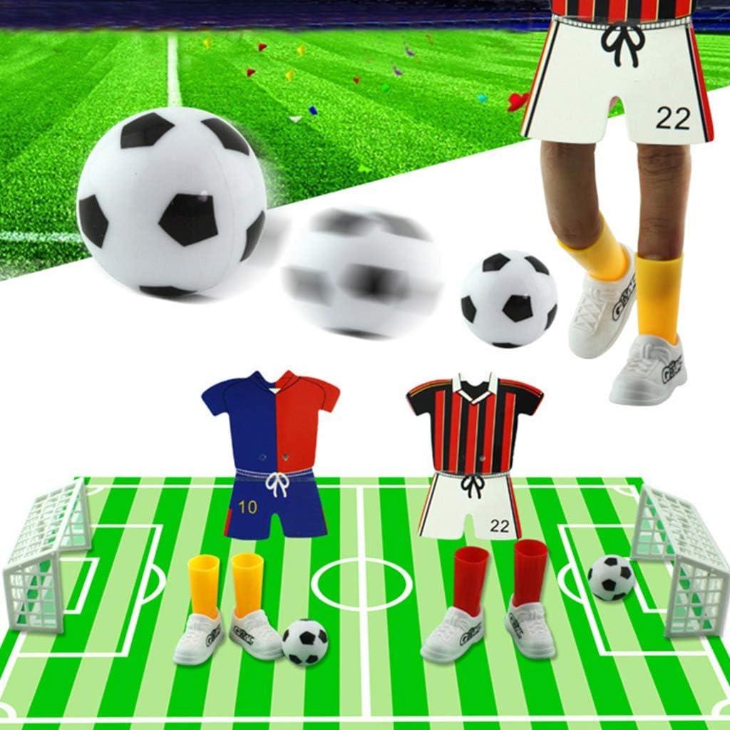 Ogquaton 1 Juego Creative Finger Soccer, Jersey Table Soccer Juego ...