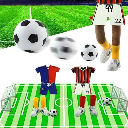 Ogquaton 1 Juego Creative Finger Soccer, Jersey Table Soccer Juego de futbolín Juego de Dedos Juego de Juguetes de Dedos Divertidos Favores de Fiesta para niños Juguete Durable y útil: Amazon.es: Hogar
