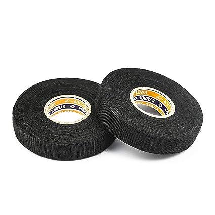 amazon com black fuzzy fleece interior wire loom harness tape car rh amazon com VW Engine Wiring VW Wiring Harness Kits