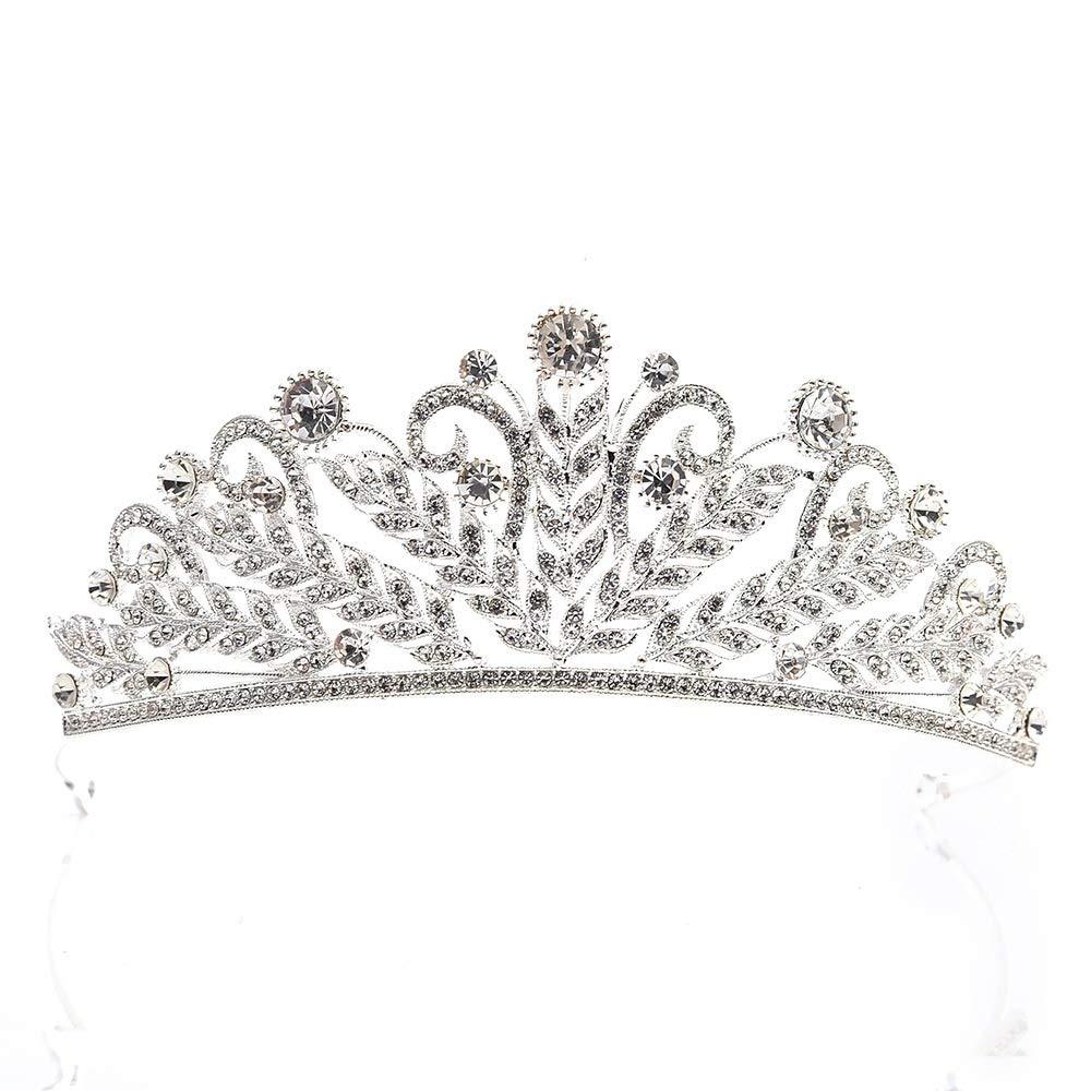 Charming Crystal Bridal Crown Tiaras Headbands Magnificent Rhinestone Diadem