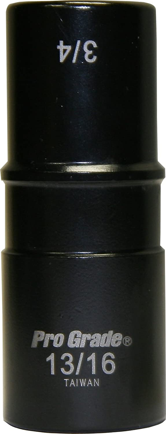Pro-Grade 14608 1//2-Inch Drive with 6 Point 15//16-Inch Impact Socket